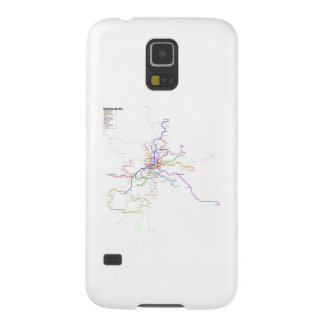Madrid (Spain) Metro Map Galaxy S5 Covers