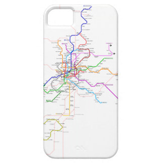 Madrid (Spain) Metro Map iPhone 5 Cover