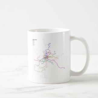 Madrid (Spain) Metro Map Coffee Mug