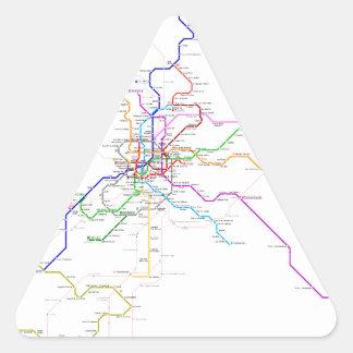 Madrid (Spain) Metro Map Sticker