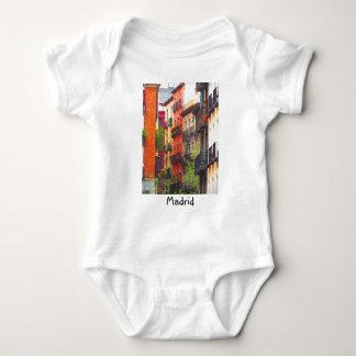 Madrid, Spain Neighborhood Baby Bodysuit