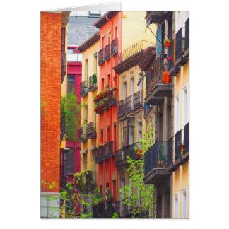 Madrid, Spain Neighborhood Card