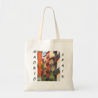 Madrid, Spain Neighborhood Tote Bag