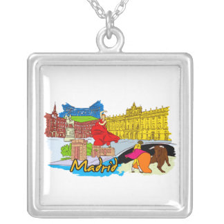 Madrid - Spain.png Necklaces