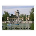 Madrid, Spain post card
