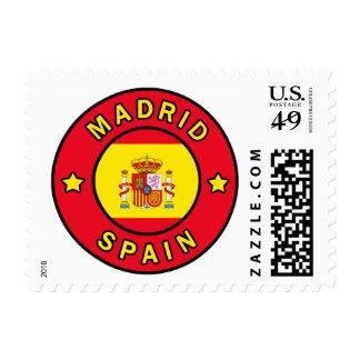 Madrid Spain Postage