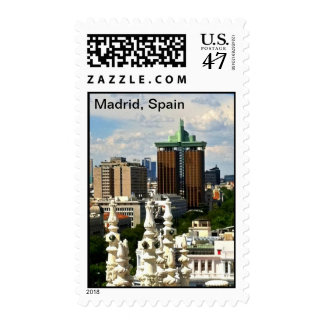 Madrid Spain Postage Stamp