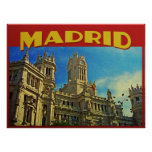 Madrid Spain Posters