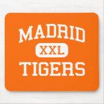 Madrid - tigres - High School secundaria de Madrid Alfombrilla De Ratones