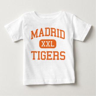 Madrid - tigres - High School secundaria de Madrid Playeras