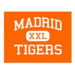 Madrid - tigres - High School secundaria de Madrid Postal