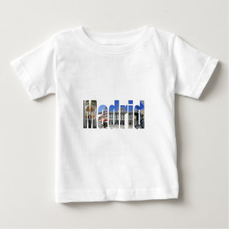 Madrid tourist attractions baby T-Shirt