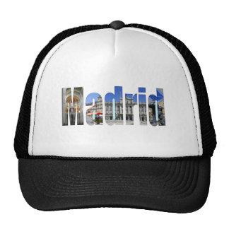 Madrid tourist attractions trucker hat