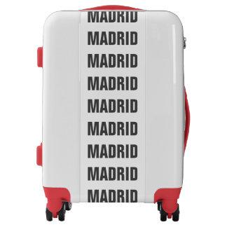 MADRID, Tyo black Luggage