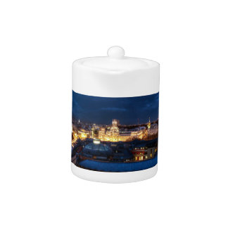 Madrid's Skyline Teapot