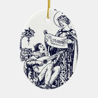 Madrigals for Christmas Ceramic Ornament