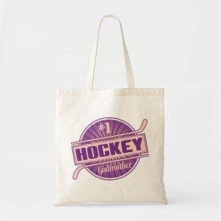 Madrina del hockey #1 bolsa tela barata