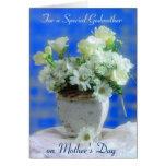 Madrina el el día de madre tarjeta de felicitación