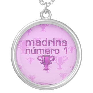 Madrina  Número 1 Silver Plated Necklace