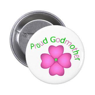 Madrina orgullosa pin