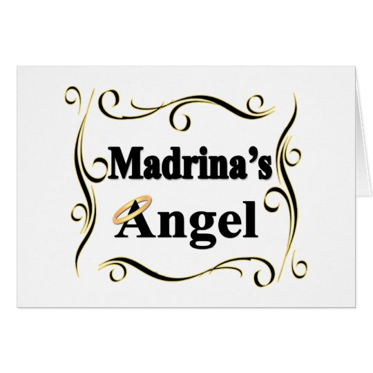 Madrina's Angel Gifts and Apparel Card