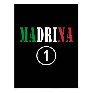 Madrinas italianas: Uno de Madrina Numero Tarjetas Postales