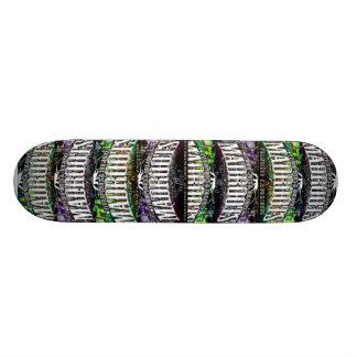 madroots hydroponics & organics skateboard deck