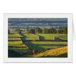 Madrugada, Askrigg, los valles de Yorkshire Felicitacion