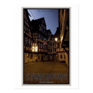 Madrugada menuda de Estrasburgo - Francia Tarjeta Postal