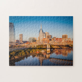 Madrugada sobre Nashville, Tennessee, los E.E.U.U. Rompecabeza