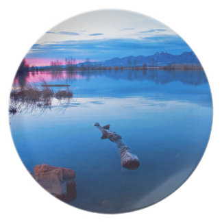 Madrugada View.jpg de Boulder Flatiron del lago Plato Para Fiesta