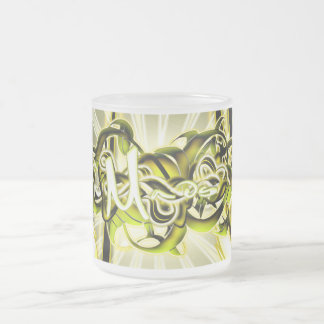 Mads Frosted Glass Coffee Mug