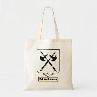 Madsen Family Crest Canvas Bags