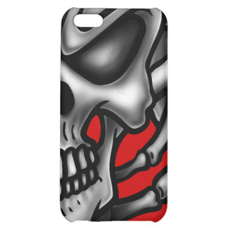 MadSkeletonred_board iPhone 5C Cover