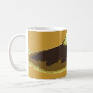 Madtom Catfish Classic White Coffee Mug