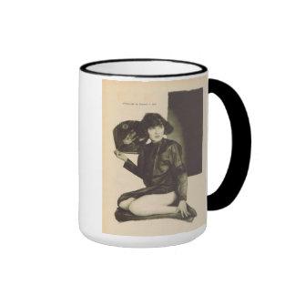 Mae Busch 1923 vintage portrait mug
