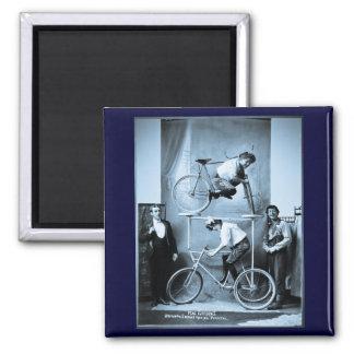 Mae Gordon's Original Insane Moving Pedestal 2 Inch Square Magnet