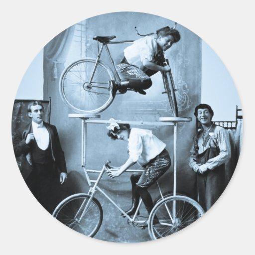 Mae Gordon's Original Insane Moving Pedestal Classic Round Sticker