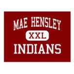 Mae Hensley - Indians - Junior - Ceres California Post Cards