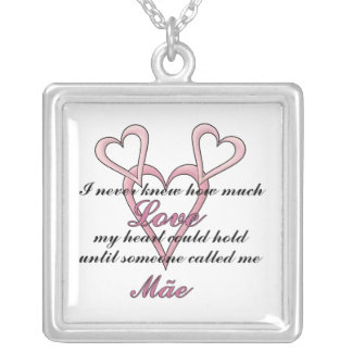 Mãe (I Never Knew) Mother's Day Necklace