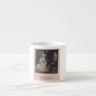 Mae Murray w/ Dog Espresso Mugs