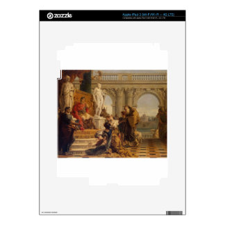 Maecenas Presenting the Liberal Arts to Emperor iPad 3 Decal