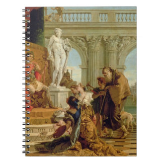 Maecenas Presenting the Liberal Arts to the Empero Notebook