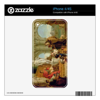 Maecenas Presenting the Liberal Arts to the Empero Skin For iPhone 4