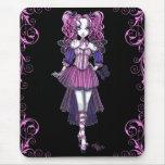 """Maegan"" Pink Valentine Fairy Art Mousepad"