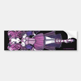 """""""Maegan"""" Pink Valentine Fairy Art Sticker"""