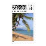 Maenam beach. postage stamps