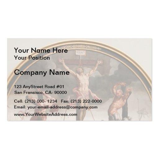 Maerten van Heemskerck- Calvary Business Card Templates