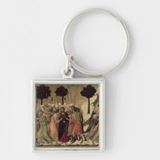 Maesta: Betrayal of Christ, 1308-11 Keychain
