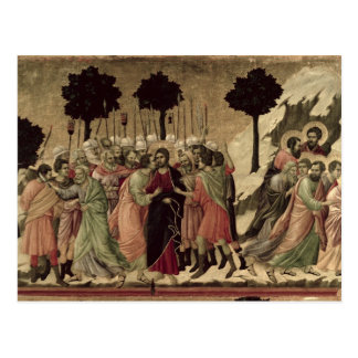 Maesta: Betrayal of Christ, 1308-11 Postcard